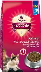 Burgess Supa Cat Dry Cat Food