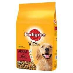 Pedigree Chum Adult Beef and Veg 12kg