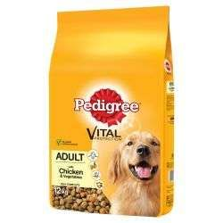 Pedigree Chum Adult Chicken and Rice 12kg