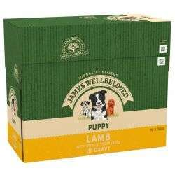 JW Pouch Lamb & Rice Puppy 150g