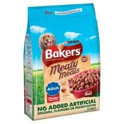 Bakers Meaty Meals Beef  2.7kg
