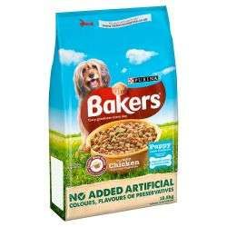 Bakers Puppy Chicken Veg & Wholegrain Complete Food 12.5kg