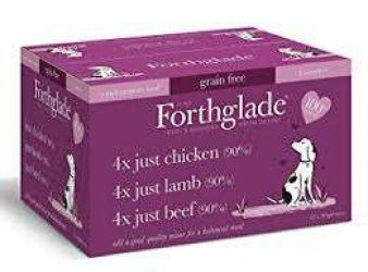 Forthglade Complete Grain Free Tray Multi Pack 12