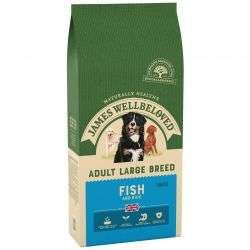 James Wellbeloved Fish & Rice Large Adult 15kg